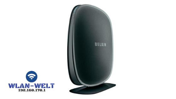 Belkin router 192.168.l78.1