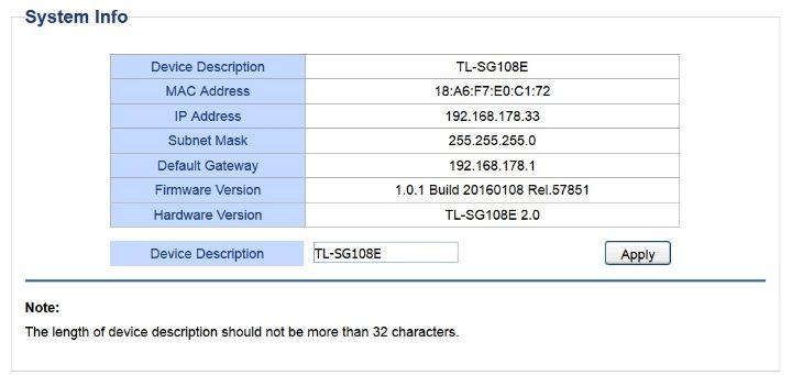 192.168.178.33 - technische Einzelheiten