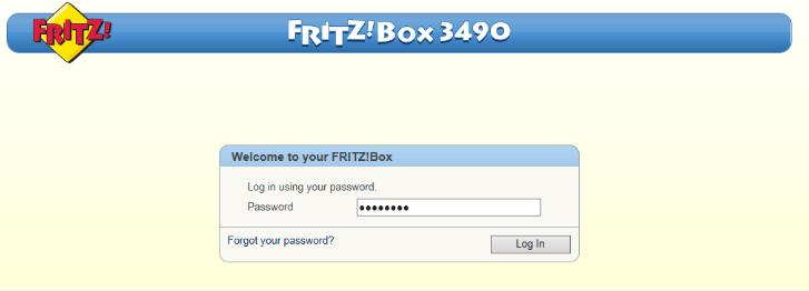 fritz.box 7490 login