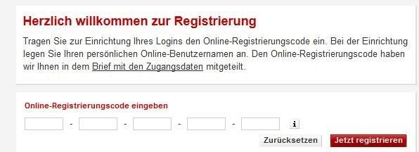 herzlich willkommen zur registrierung